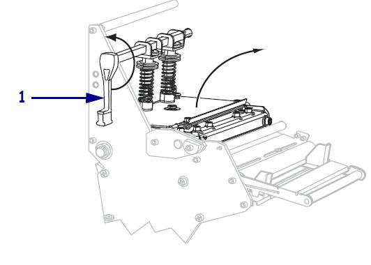 Zebra 105SL Plus打印机如何手动校准色带和介质传感器