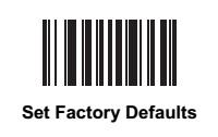 斑马Zebra DS8108条码扫描器恢复出厂的方法