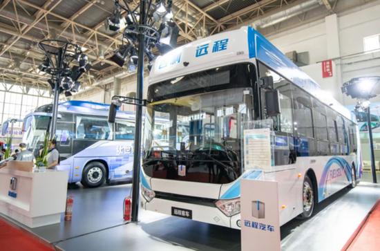 吉利首款氢燃料电池客车发布